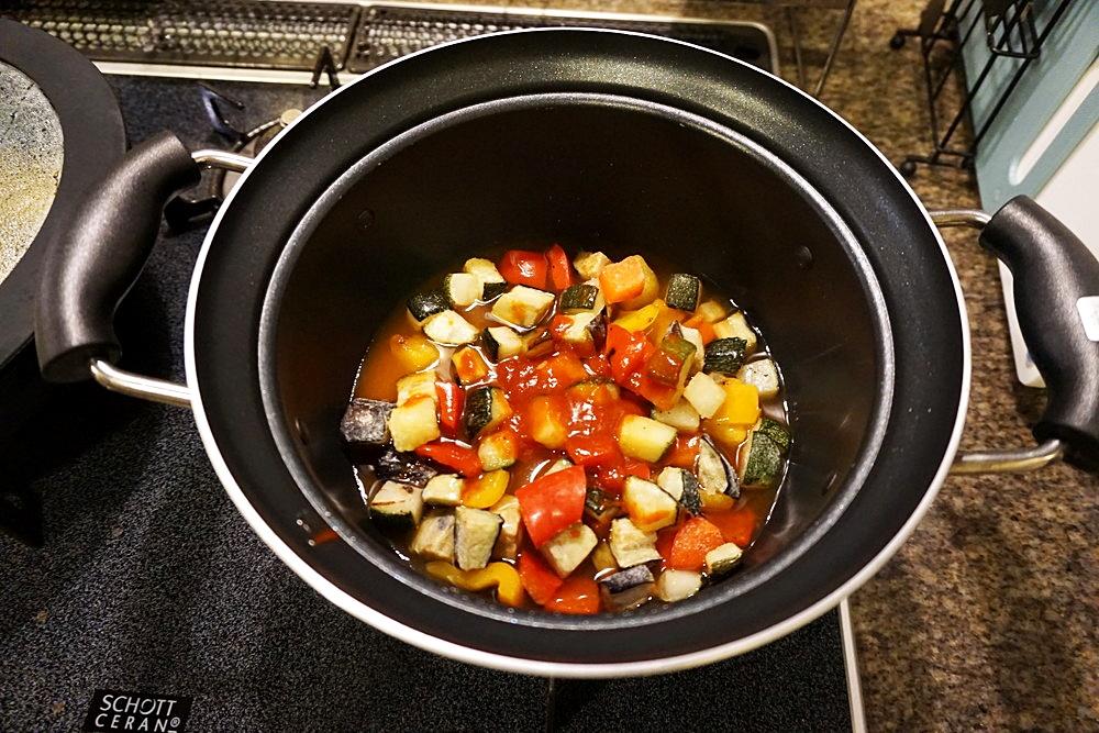 4種野菜のラタトゥイユ2