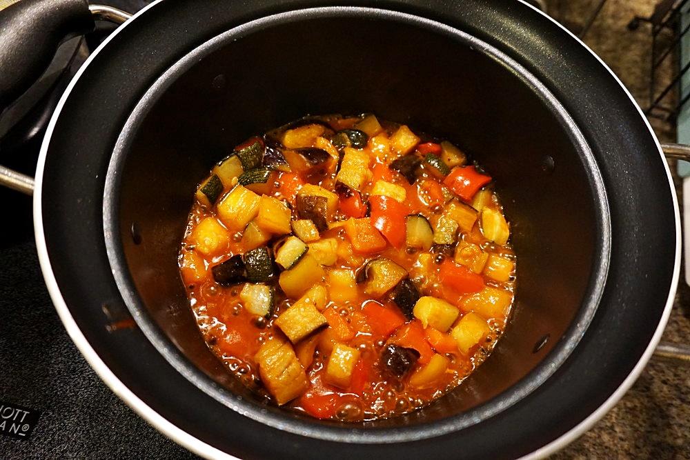 4種野菜のラタトゥイユ4