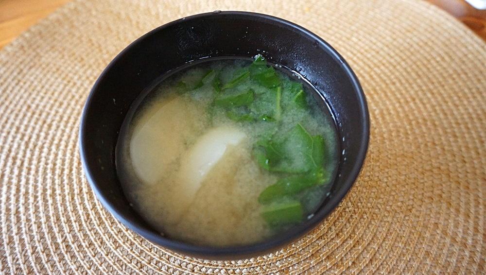 かぶのお味噌汁