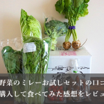 ミレー野菜お試し
