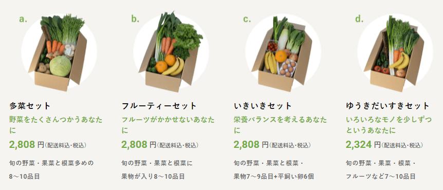 ビオマルシェ 野菜セット