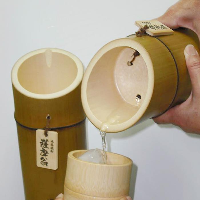竹焼酎「薩摩翁」